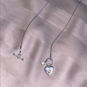 Jewelry - Heart and star necklace